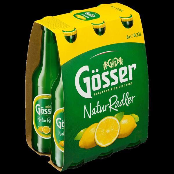 Gösser Radler 6x0,33 l (Mehrweg)