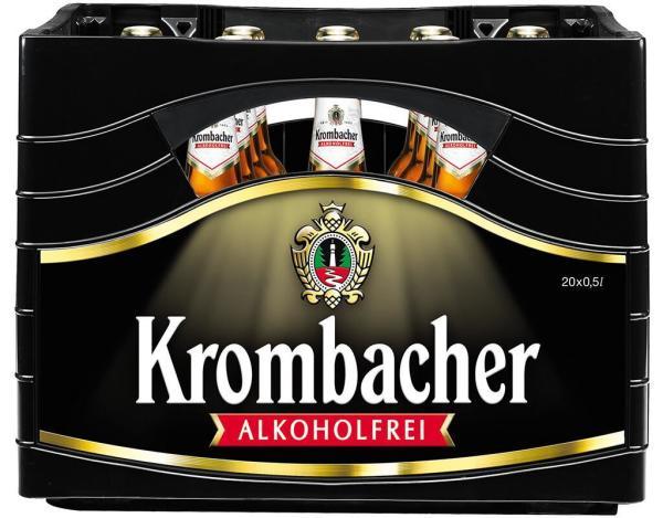 Krombacher Alkoholfrei 20x0,5 l (Mehrweg)