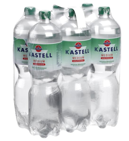 Kastell Medium 6x1,5 l PET (Einweg)
