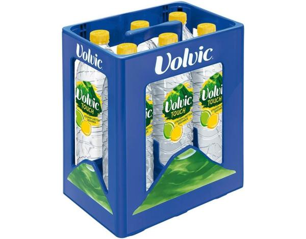 Volvic Touch Zitrone Limette 6x1,5 l (Einweg)