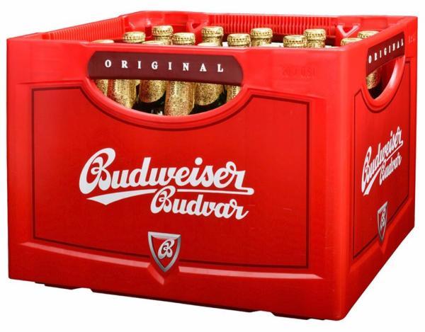 Budweiser 20x0,5 l (Mehrweg)