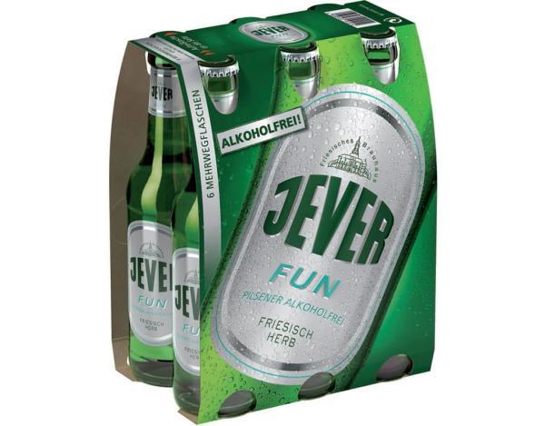 Jever Fun Alkoholfrei 6x0,33 l