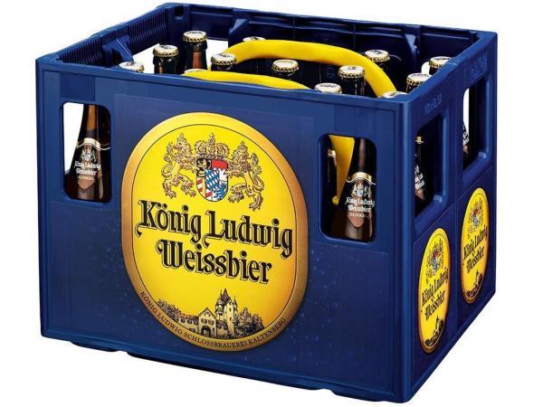 König Ludwig Weissbier Dunkel 20x0,5 l
