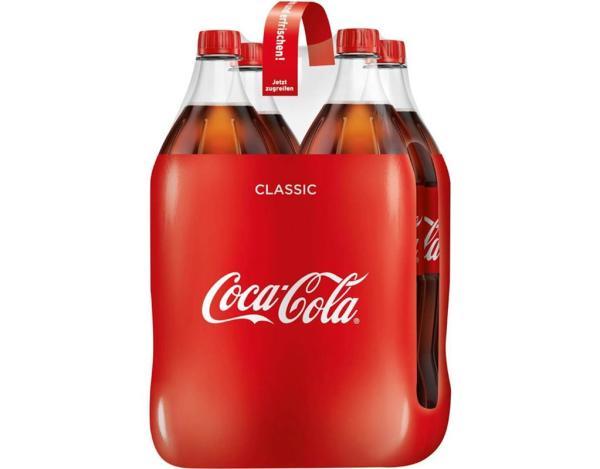 Coca Cola 4x1,5 l (Einweg)