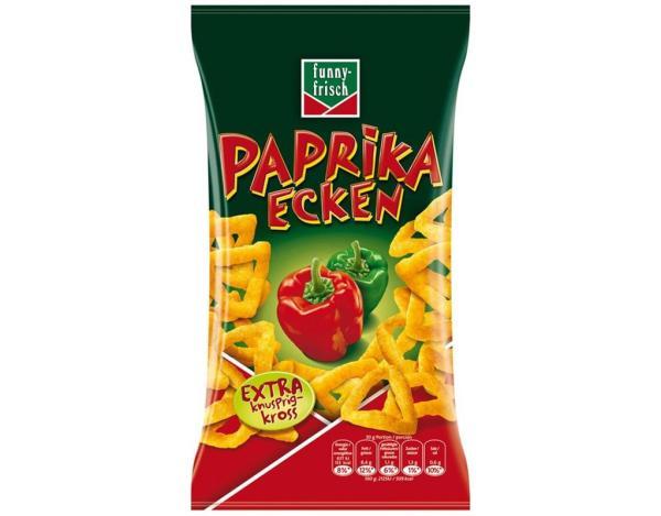 Funnyfrisch Paprika Ecken 75g