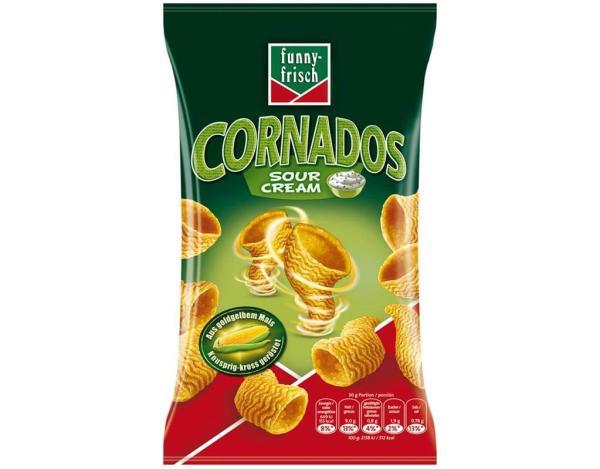 Funnyfrisch Cornados Sour Cream 80g