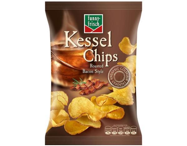 Funnyfrisch Kessel Chips Bacon 120g
