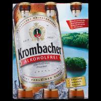 Krombacher Alkoholfrei 6x0,33 l (Mehrweg)