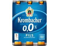 Krombacher 0,0% AF 6x0,33 l (Mehrweg)