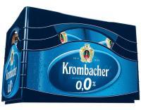 Krombacher 0,0% AF 4x6x0,33 l (Mehrweg)