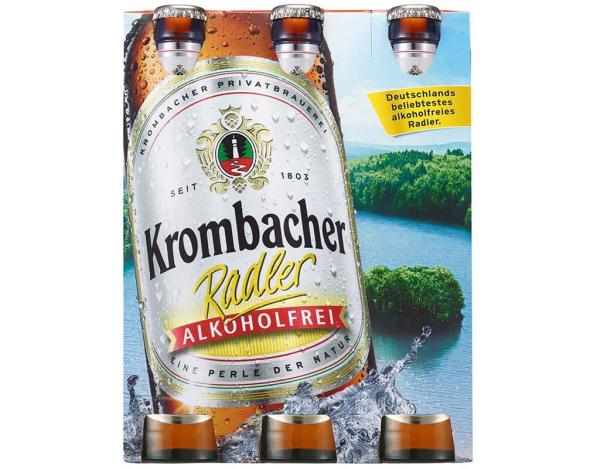 Krombacher Radler AF 6x0,33 l (Mehrweg)