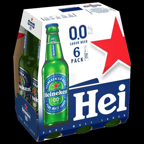 Heineken 0,0% AF 6x0,33 l