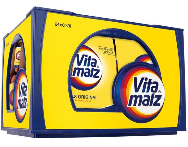 Vitamalz AF 4x6x0,33 l (Mehrweg)