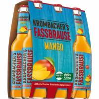 Krombacher Fassb. Mango 6x0,33 l (Mehrweg)