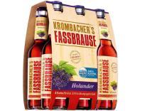 Krombacher Fassb. Holunder 6x0,33 l (Mehrweg)