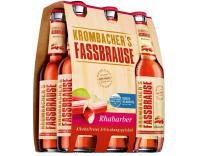 Krombacher Fassb. Rhabarber 6x0,33 l (Mehrweg)