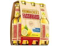 Krombacher Fassb. Zitrone 6x0,33 l (Mehrweg)