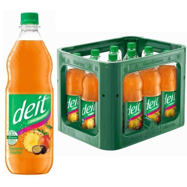 Deit Tropische Früchte 12x1 l (Mehrweg)