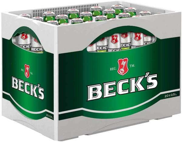 Becks 20x0,5 l (Mehrweg)