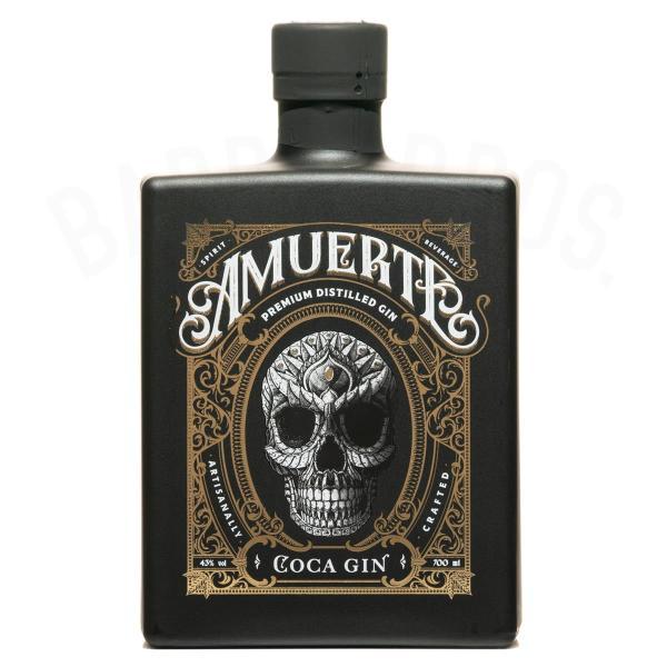 Amuerte Coca Gin Black 0,7 l
