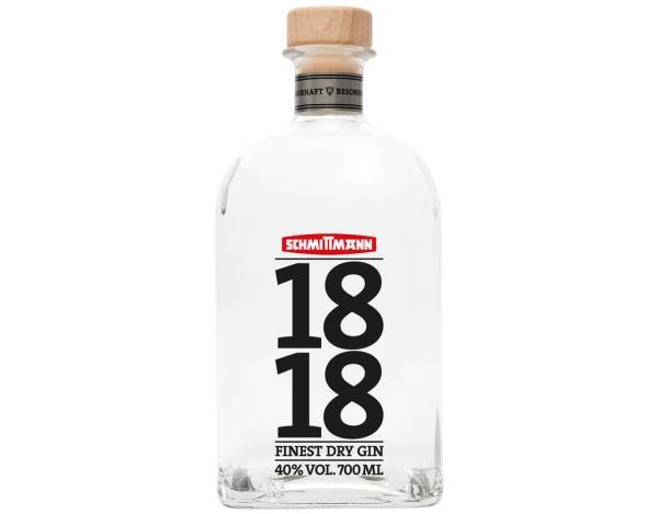 Schmittmann 1818 Dry Gin 0,7 l