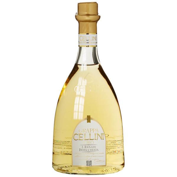 Grappa Cellini Oro 0,7 l