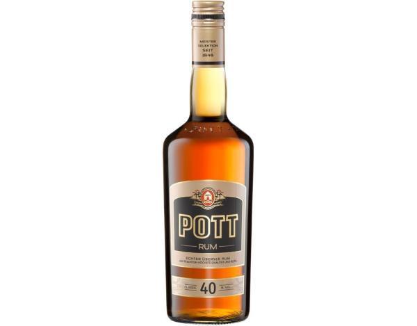 Pott Rum 40% 0,7 l