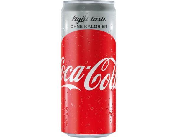 Coca Cola Light 0,33 l DS (Einweg)