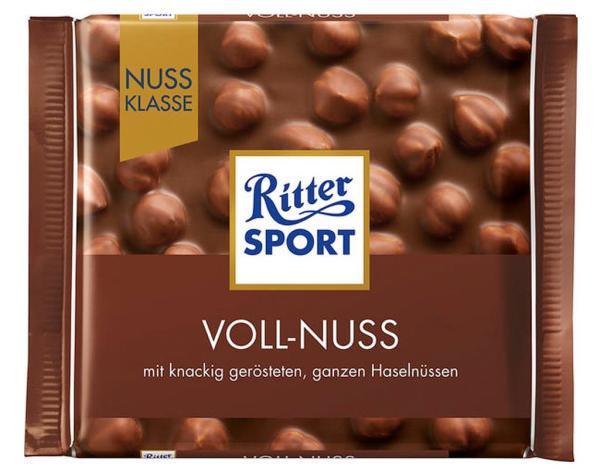 Ritter Sport Voll Nuss 100g