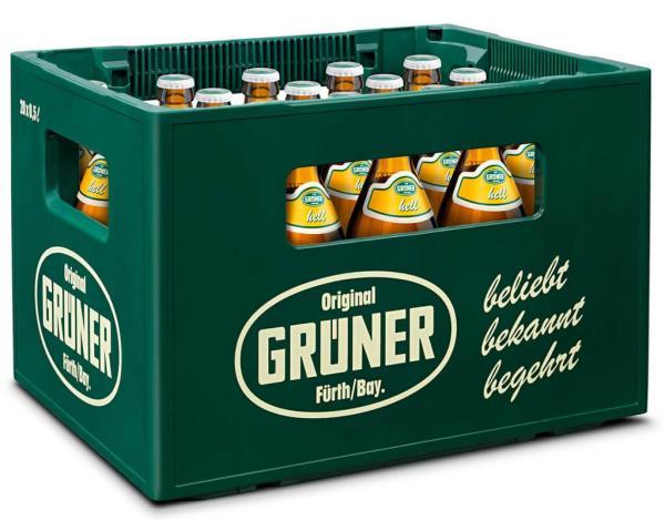 Grüner Vollbier Hell 20x0,5 l (Mehrweg)