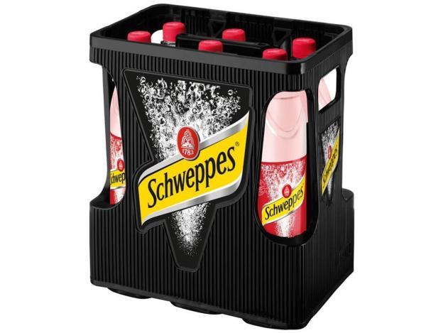 Schweppes Wild Berry 6x1 l (Mehrweg)