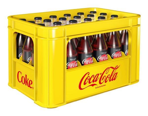 Coca Cola Zero 24x0,33 l (Mehrweg)