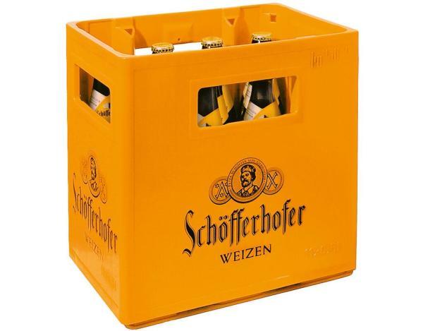 Schöfferhofer Weizen 11x0,5 l (Mehrweg)