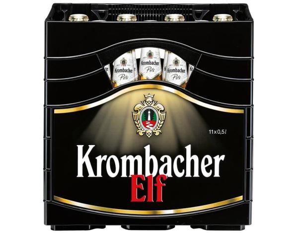 Krombacher Pils 11x0,5 l (Mehrweg)