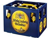 König Ludwig Weissbier Hell 20x0,5 l (Mehrweg)