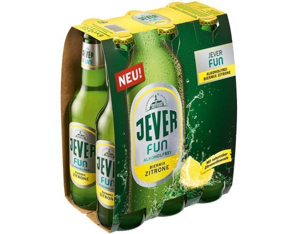 Jever Fun Alkoholfrei Zitrone 6x0,33 l