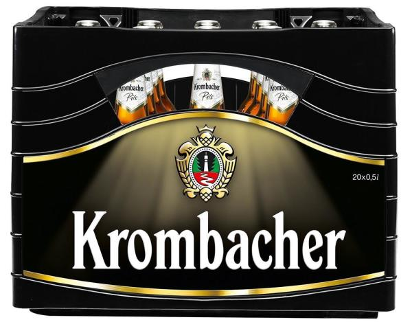 Krombacher 20x0,5 l (Mehrweg)