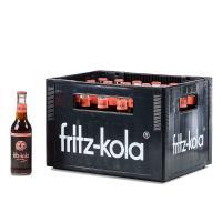 Fritz Kola null Zucker 24x0,33 l (Mehrweg)