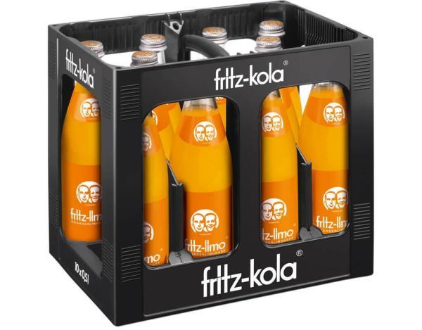 Fritz Orange 10x0,5 l (Mehrweg)