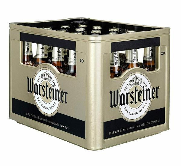 Warsteiner 20x0,5 l (Mehrweg)