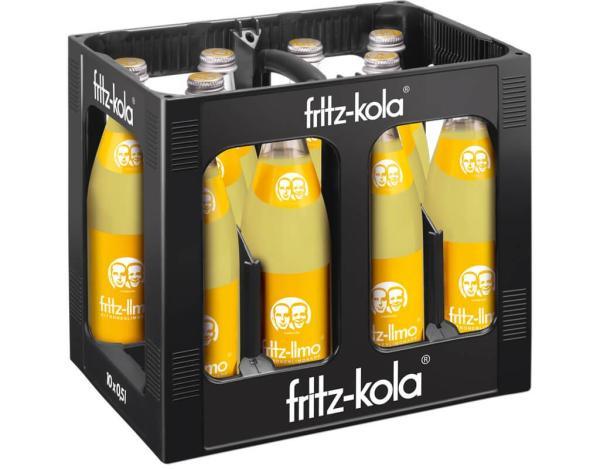 Fritz Zitrone 10x0,5 l (Mehrweg)