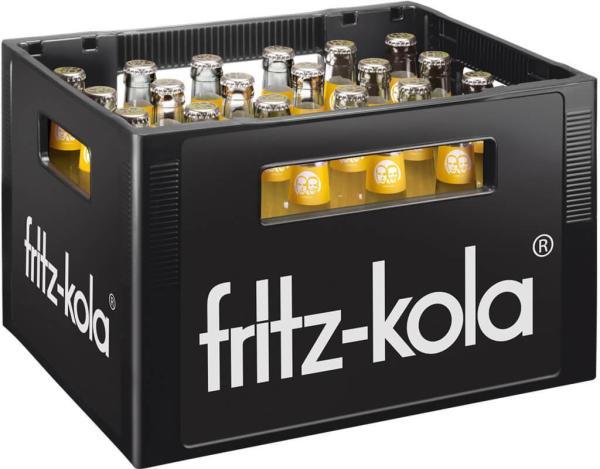 Fritz Zitrone 24x0,33 l (Mehrweg)