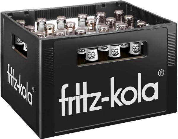 Fritz Kola ohne Zucker 24x0,33 l (Mehrweg)
