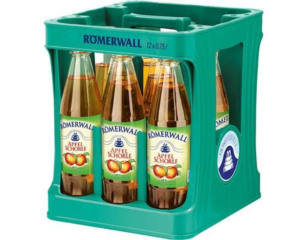 Römerwall Apfelschorle 12x0,75 l (Mehrweg)