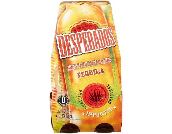 Desperados 4x0,33 l (Mehrweg)