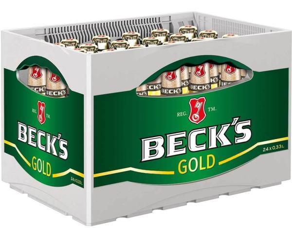 Becks Gold 24x0,33 l (Mehrweg)