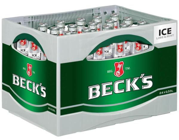 Becks Ice 24x0,33 l (Mehrweg)
