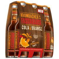 Krombacher Fassb. Cola Orange 6x0,33 l (Mehrweg)