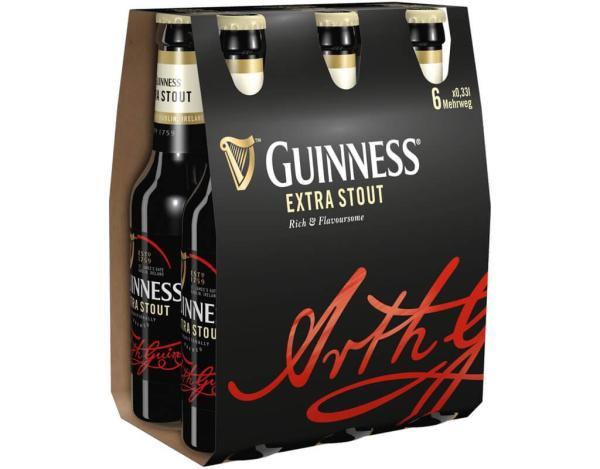 Guinness 6x0,33 l (Mehrweg)