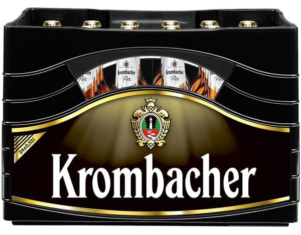 Krombacher 24x0,33 l (Mehrweg)